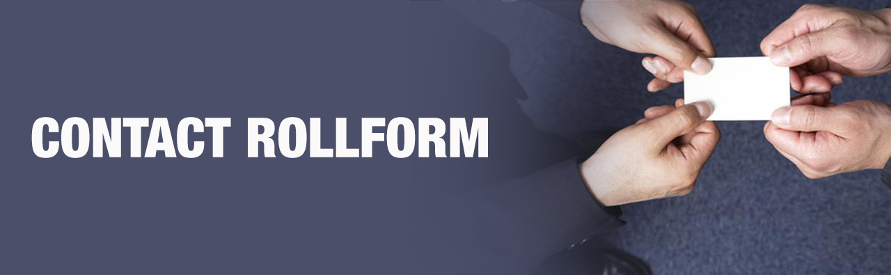 Contact RollForm