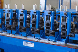 LONGITUDINAL WELDED TUBE MILLS